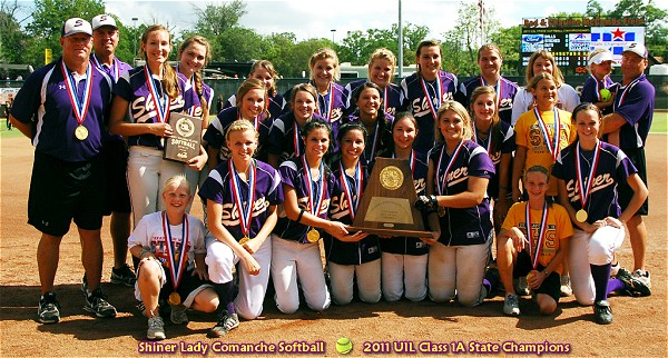 Shiner Lady Comanches - 2011 Class 1A State Softball Champions