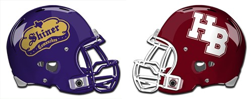 Shiner Comanches at Hallettsville Brahmas